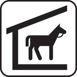 horse,stable