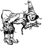 scarecrow,bowing,cartoon,character,media,clip art,externalsource,public domain,image,png,svg