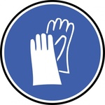 wear,glove,sign,symbol