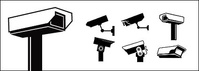 cctv,monitoring,element,camera,graphics,street,outline,view,video,close,circuit,television,stop sign