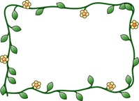 flower,frame,cartoon,plant,nature,border,decoration,media,clip art,public domain,image,svg