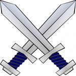 crossed,sword,media,clip art,externalsource,public domain,image,png,svg,weapon,heraldry,battle