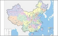 china,map,four,color