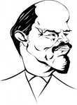 lenin,caricature,media,clip art,externalsource,public domain,image,png,svg,cartoon,people,historical,communism,russian,soviet