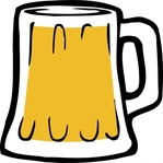 fattymattybrewing,fatty,matty,brewing,beer,icon,beer mug,mug,glass,brew,homebrewing,colour,illistration,drink