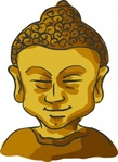 buddha,head,media,clip art,public domain,image,png,svg,peaceful,zen,personal