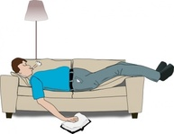 addon,sleeping,couch,sofa,settee,man,asleep,media,clip art,public domain,image,png,svg
