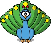 cartoon,peacock,remix,color,bird,clip art,media,public domain,image,png,svg