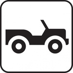 jeep,truck,park,map,pictograph,symbol,sign,cartography
