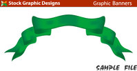 symbol,banner,green,ribbon