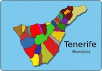 municipios,tenerife,map,geography,cartography