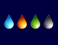 water,drop,free vector,droplet,ray,light,colorful,colour,nature