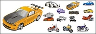 automobile,motorcycle,vector,material