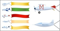 banner,towing,aircraft,material