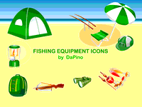 fishing,equipment,icon,binocular,tent,beach,crossbow,backpack,napsack,lure,lantern,umbrella,fishing,binoculars,tent,beach,crossbow,napsack,lure,fishing,binoculars,tent,beach,crossbow,napsack,lure