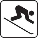 skiing,sign,park,map,pictograph,symbol,cartography
