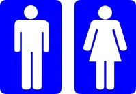 wariat,toilet,sign,man,woman