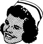 nurse,head,people,woman,cap,medical,health,line art,black and white,contour,outline,media,clip art,externalsource,public domain,image,png,svg,wikimedia common,psf,wikimedia common,wikimedia common,wikimedia common