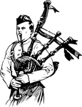 playing,bagpipe,people,man,music,musical instrument,drawing,line art,black and white,contour,coloring book,outline,musical instrument,bagpipe,wikimedia common,psf,musical instrument,bagpipe,wikimedia common