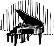 piano,front,curtain,media,clip art,externalsource,public domain,image,png,svg,music,instrument,stage,show,entertainment,loc