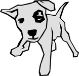 simple,drawing,animal,dog,mammal,pet,colouring book