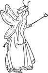 fairy,queen,person,girl,costume,fantasy,colouring book,media,clip art,externalsource,public domain,image,png,svg