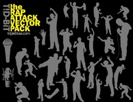 attack,rap,men,woman,people,dancing,silhouette,hip-hop,signer,singing,microphone,mic,people silhouette