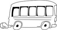 school,outline,media,clip art,public domain,image,png,svg,cartoon,city,bus,road,car,contour,colouring book,transport,transportation