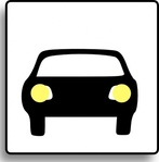 icon,sign,button,car,media,clip art,public domain,image,svg