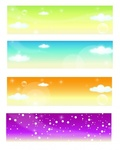 banner,spring,summer,fall,autumn,winter