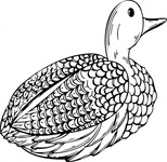 duck,decoy,media,clip art,externalsource,public domain,image,png,svg,bird,animal,hunting,uspto