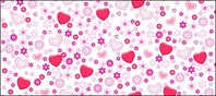 lovely,heart,shaped,flower,background,material