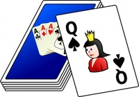 card,deck,clip art,remix,media,public domain,image,png,svg,card,game,queen,spade,deck of card,play,gambling,card,spade,deck of card