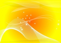 background,sun,abstract,curve,element,flowing,line,orange,star,wave,yellow