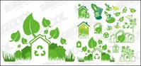 green,theme,material,ecology,plant,vectors-ecology,set