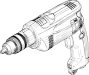 electric,drill,media,clip art,externalsource,public domain,image,png,svg,tool,power,electic,building,repair,uspto