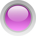 circle,purple,button,glossy,round,media,clip art,public domain,image,svg