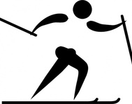 olympic,sport,cross,country,skiing,pictogram