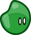 jelly,media,clip art,how i did it,public domain,image,svg,slime,monster,green