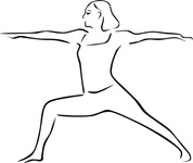 yoga,pose,stylized