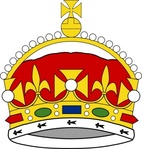 crown,george,prince,wale,heraldry,color