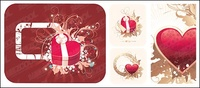 heart,shaped,pattern,material
