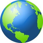 earth,planet,globe,world,icon,color,blue,green