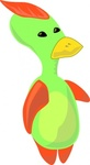 alien,duck,animal,creature,colour,cartoon,bird