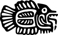 ancient,mexico,motif,fish,art,media,clip art,externalsource,public domain,image,png,svg