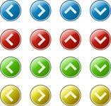 arrow,button,media,clip art,public domain,image,png,svg,icon,red,yellow,green,blue