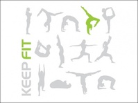 keep,fit,give,your,workout,workout!,human,health,yoga,exercise,fitness,silhouette,people,bending,stretching,pose,graphics,various,pose,design,vector,pack,design,pose