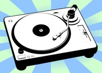 turntable,music,player,phonograph,sound,disc,vinyl,media,clip art,public domain,image,png,svg