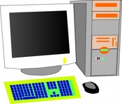 media,clip art,public domain,image,png,svg,technology,computer,personal,screen,crt,tool,keyboard,system,mouse,workstation,desktop,hardware