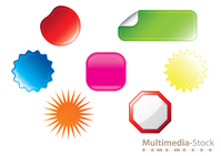 sticker,colorful,template